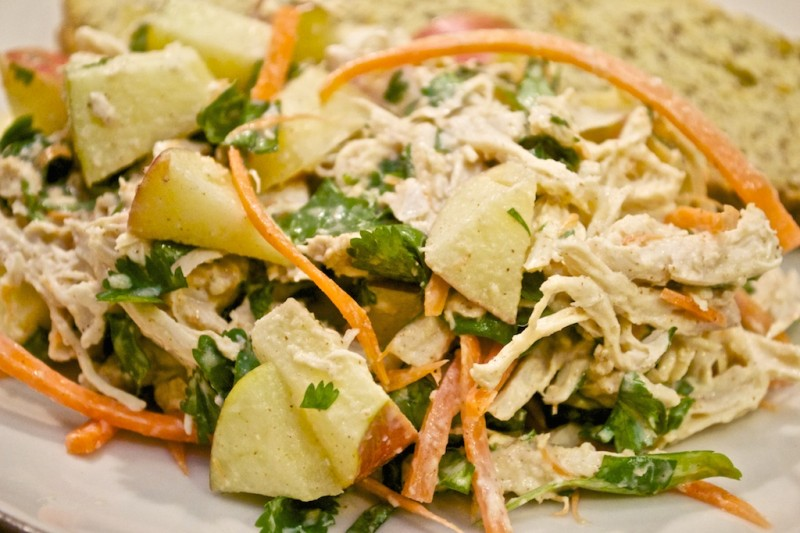 Recipe: Asian Almond Chicken Salad - Samuel Sidler