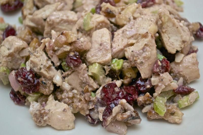 Recipe: Cranberry Walnut Chicken Salad - Samuel Sidler