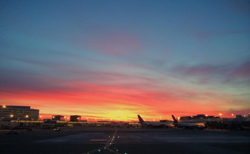 Sunrise at SeaTac