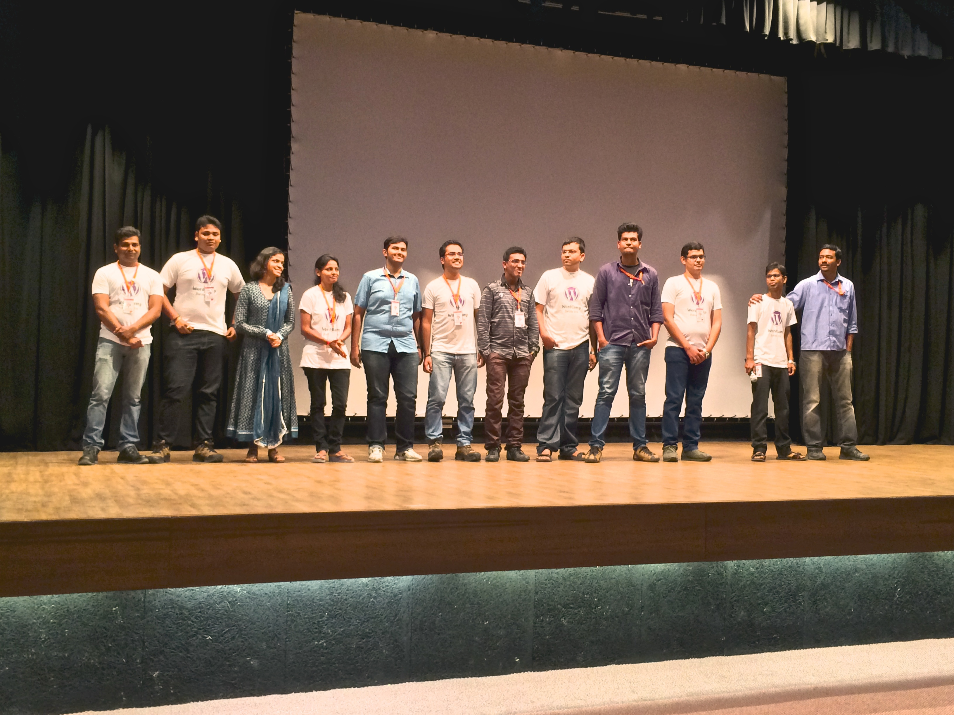 Volunteers of WordCamp Baroda 2014